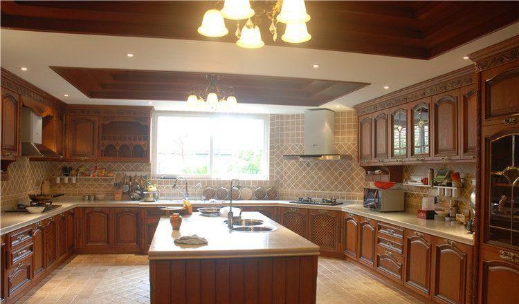 别墅厨房怎样装修?别墅厨房装修有哪些要点?-「御墅国际装饰」