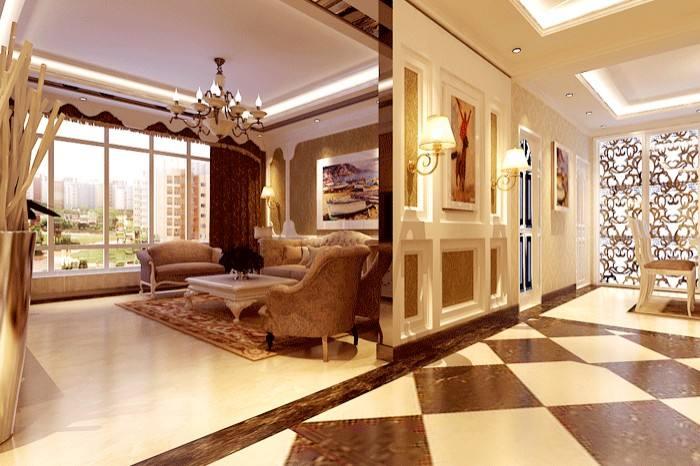 别墅复式楼的装修设计-「御墅国际装饰」