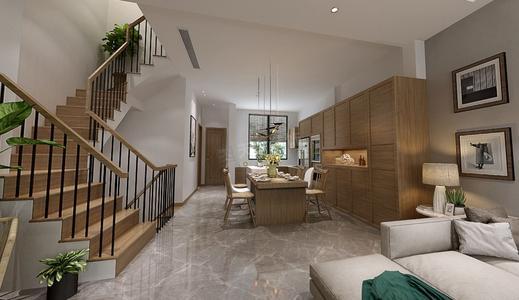 复式别墅设计北欧风格特点-「御墅国际装饰」