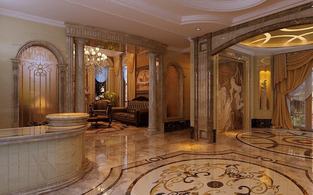 别墅设计美式风格装饰特点-「御墅国际装饰」