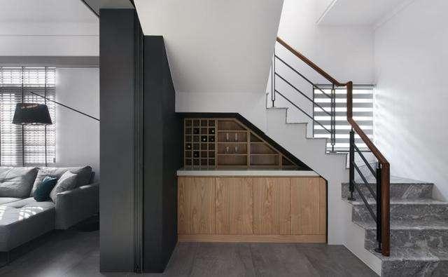 连排别墅设计轻奢风格-「御墅国际装饰」