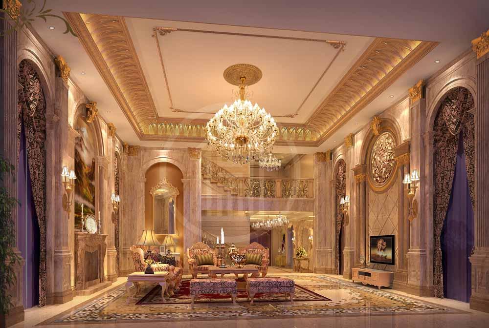 别墅高端装修设计技巧你知道多少?-「御墅国际装饰」