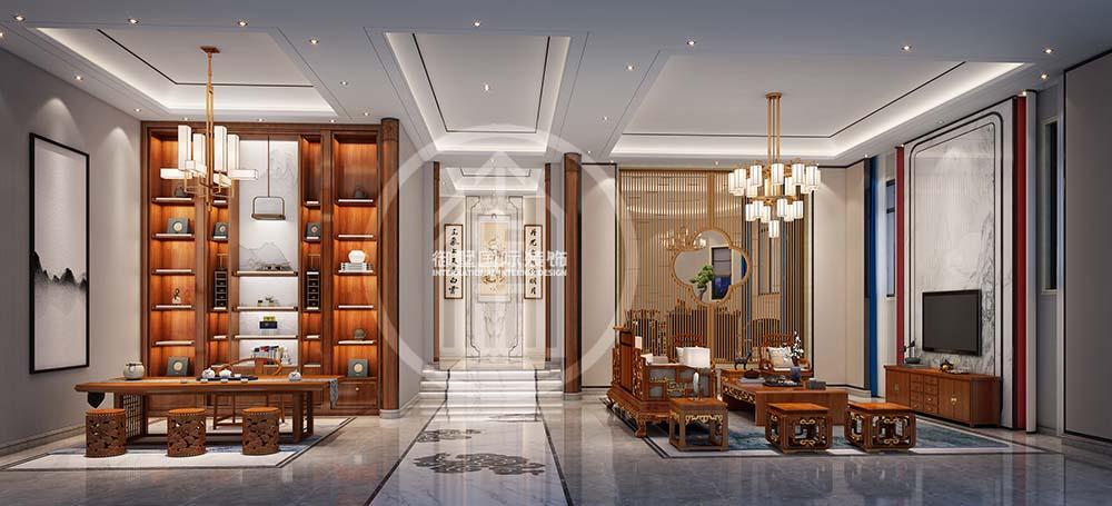 新中式风格别墅装修设计要注意什么?-「御墅国际装饰」