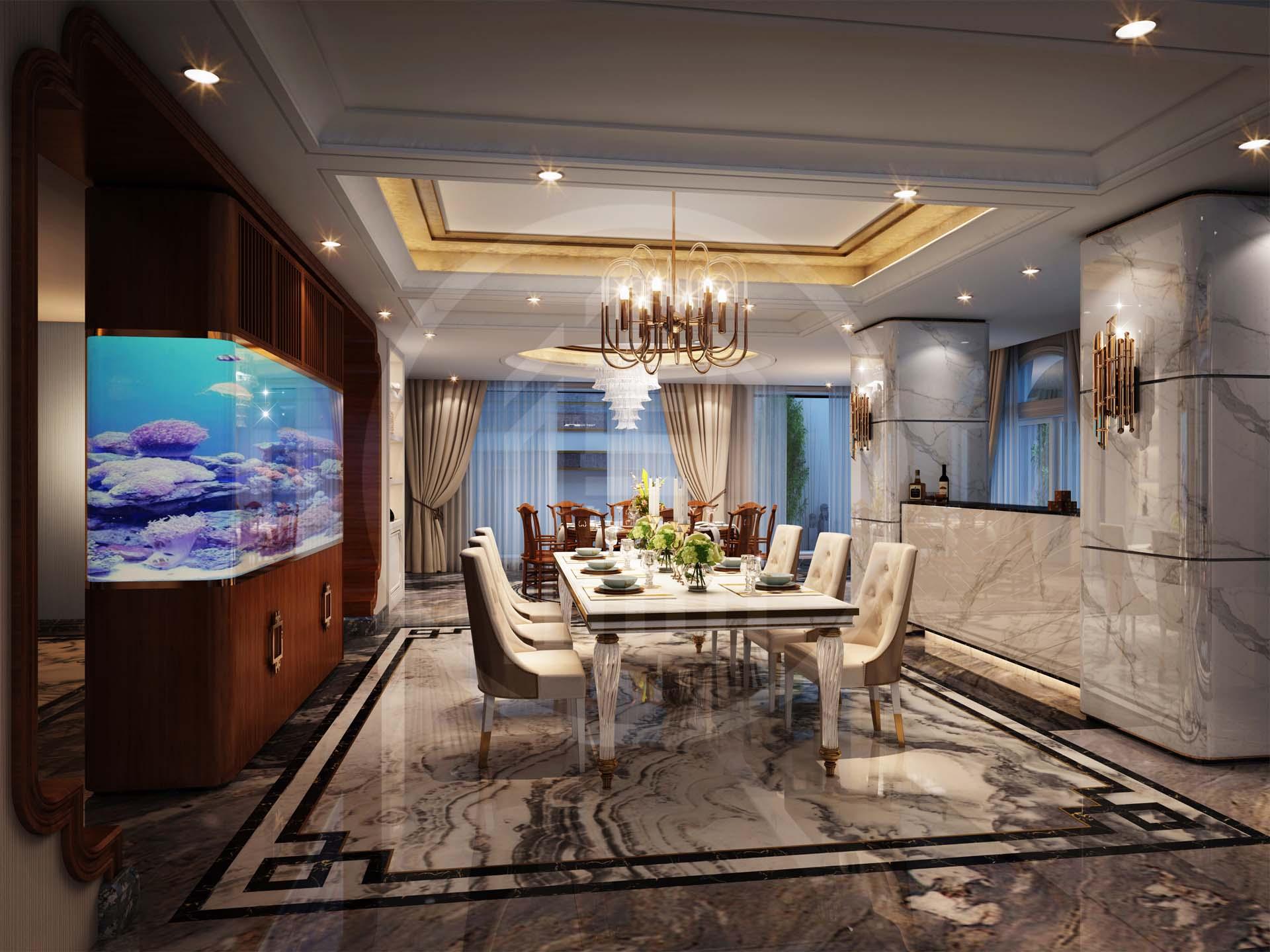 欧式别墅大厅怎么设计比较好看,有没有哪些比较好的装修想法可以和我探讨一下?-「御墅国际装饰」