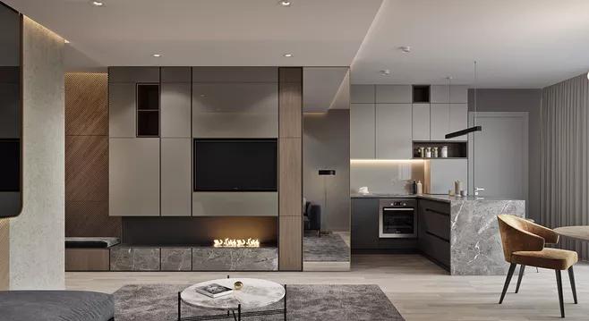 新中式别墅装修设计技巧与中式风格的区别-「御墅国际装饰」