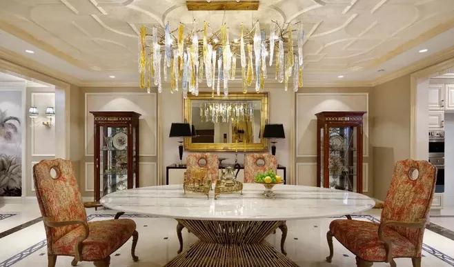 混搭风格别墅装修是怎么设计-「御墅国际装饰」