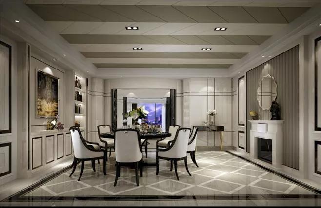 现代风格别墅装修设计时注意事项-「御墅国际装饰」