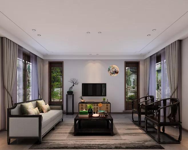 别墅阳台装修设计方法打造喜欢的花园-「御墅国际装饰」