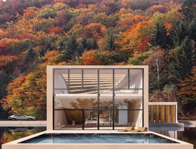 别墅中式新古典装修设计风格特点-「御墅国际装饰」