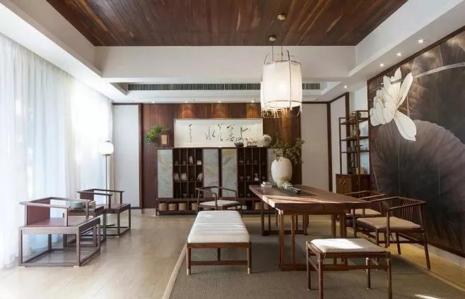别墅欧美风格装修设计的技巧-「御墅国际装饰」