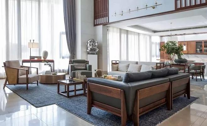 豪华自建别墅楼梯装修设计有哪些注意事项-「御墅国际装饰」