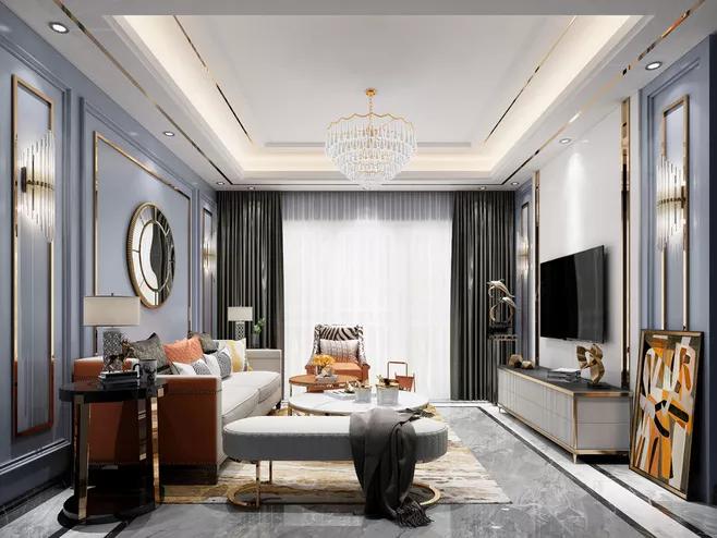 新中式风格别墅装修怎么设计好看-「御墅国际装饰」